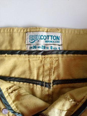 Mini-saia 36 verde claro