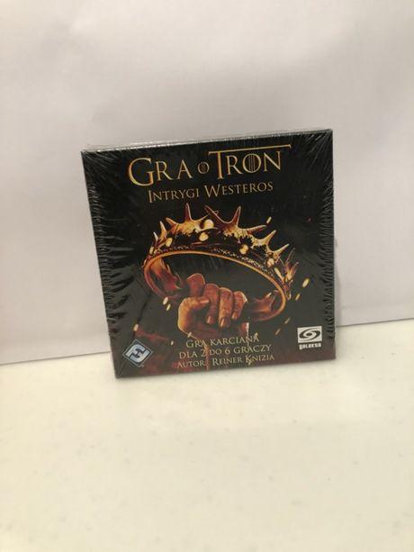 GRA O TRON Intrygi Westeros /gra karciana 2-6 graczy/HBO