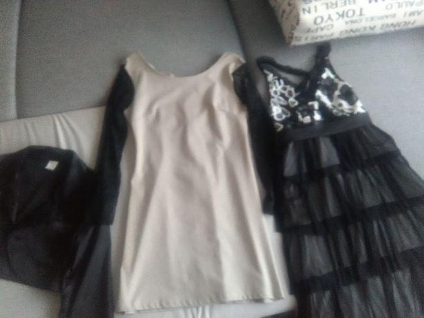2 sukienki i bolerko