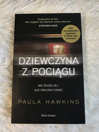 Książka ,,Dziewczyna z pociągu'' Paula Hawkins