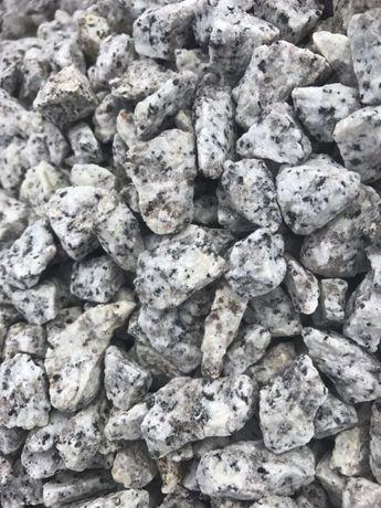 """Grys granitowy """"Dalmatyńczyk"""" - kamień ozdobny"""