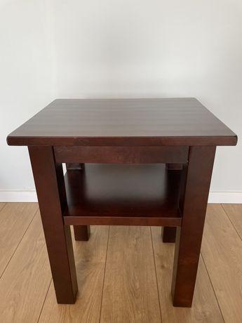 Stolik z litego drewna brzozowego