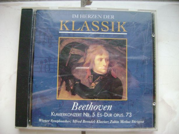 Płyta CD z muzyką Beethoven