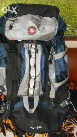 Рюкзак DERBY Туристический Походный Ортопедический Качество 55~60л