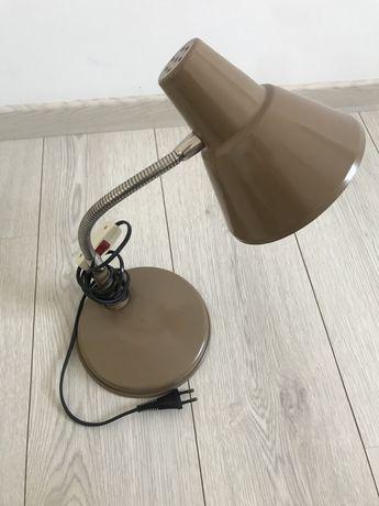 Lampka Biurkowa PRL Vintage Idealna Lata 70 Sprawna