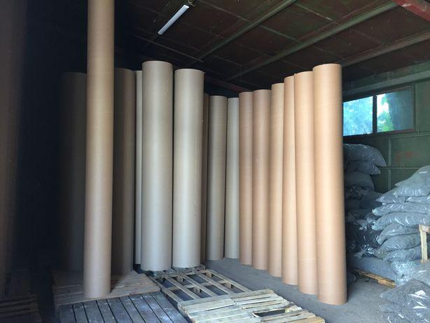 Картонная опалубка  круглых колонн высотой 4 метра диаметр 300 мм
