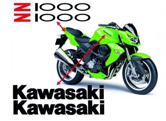 Kawasaki z1000 autocolantes