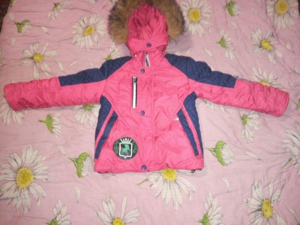 Продам мальчиковую куртку 5-6 лет