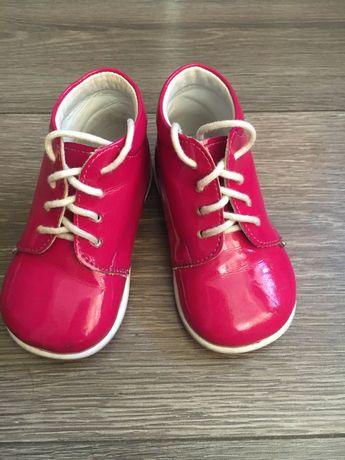 Туфельки, ботинки, хайтопы малиновые Emel, 19 размер