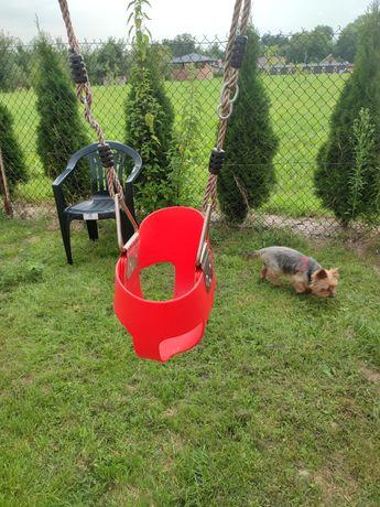 Huśtawka ogrodowa dla dzieci gniazdo