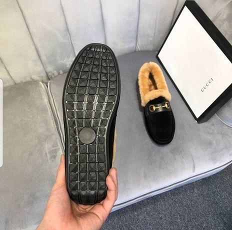 Мокасины зимние, зимняя обувь. Размер 43, распродажа, эксклюзив,