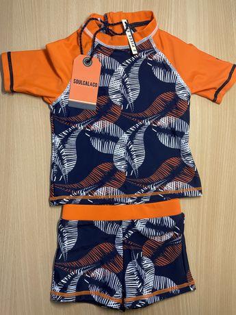 Новый солнцезащитный пляжный костюм для мальчика на 2-3 года