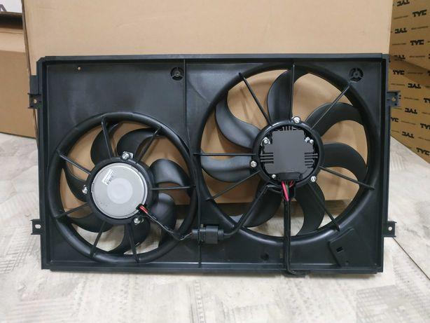 Дифузор вентилятор Volkswagen Passat B7 USA 2.5 бампер