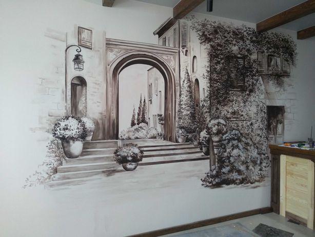 Роспись стен, Дизайн, художественное оформление