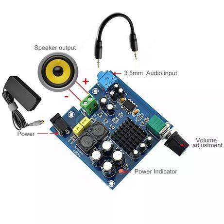 аудио сабвуфер усилитель мощности TPA3116D2 100 Вт моно.DC8-25V.NE5532