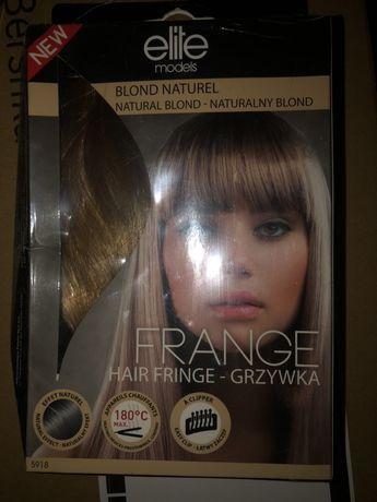 Przedłużki do włosów grzywka Elite nowe blond naturalny