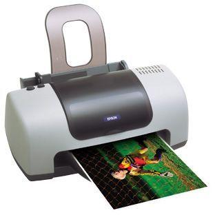 Impressora Epson Stylus C42 UX Cores jato tinta