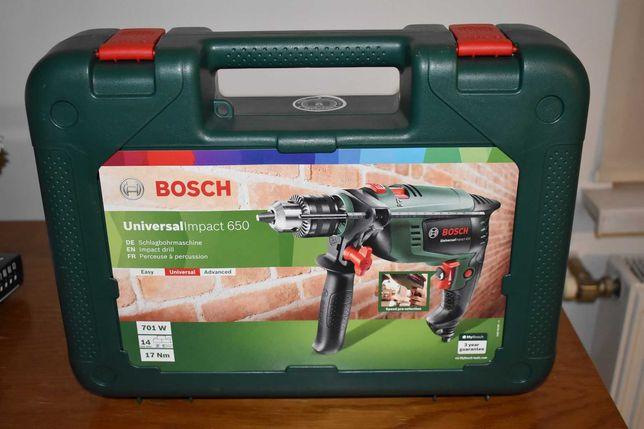 NOWA Wiertarka udarowa Bosch UniversalImpact 650 701 W reg. obrotów