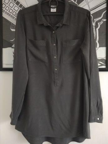 Стильная блузка, блуза с длинным рукавом Vero Moda тёмный серый
