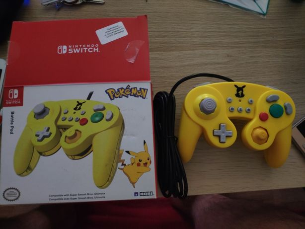 Nowy Pad Hori Battle Pad Nintendo Switch Pokemon Pikachu