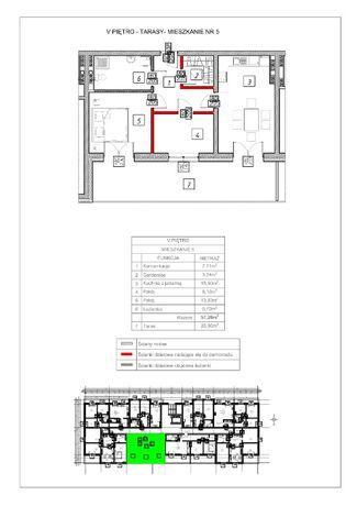 Mieszkanie o pow. 57,28 m2 Odstąpię rezerwację