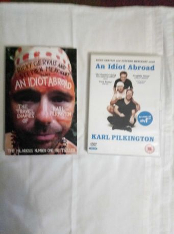 An idiot abroad Простак заграницей Книга и DVD диск English английский