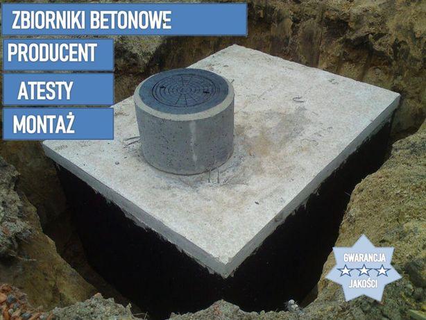Szamba betonowe szczelne, Zbiorniki na szambo KOMPLEKSOWO z wykopem