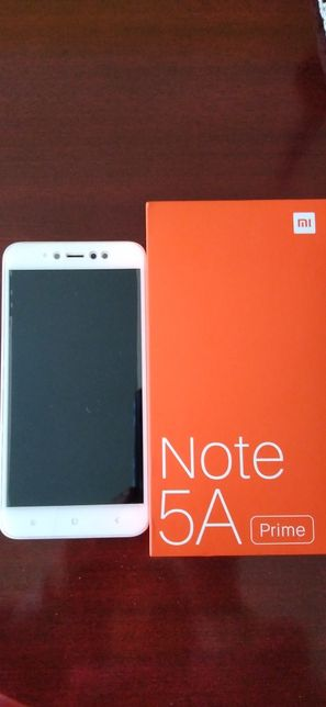 Smartphone Xiaomi Redmi Note 5A Prime Rose Gold Dual Sim Desbloqueado