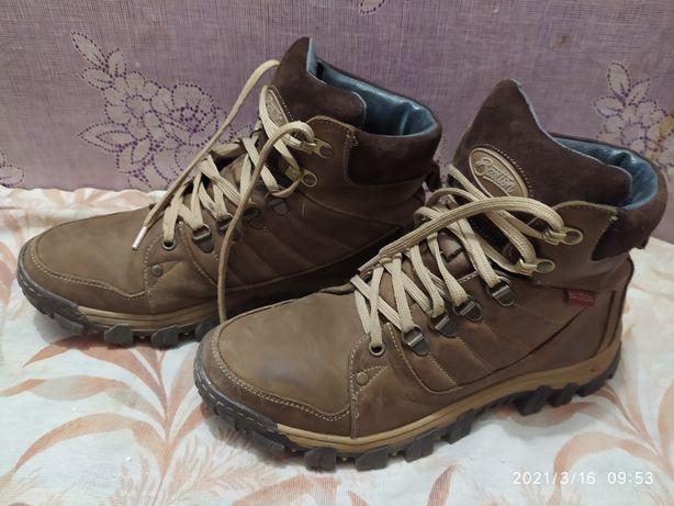 Натуральные зимние ботинки на подростка, мужчину 40 р.