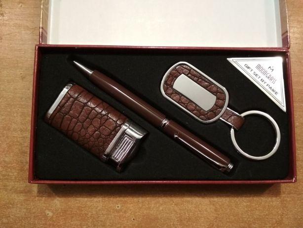Набор Ручка Брелок и зажигалка для мужчин на подарок