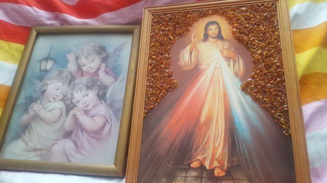 Sprzedam dwa śliczne obrazy na ścianę..Okazja..