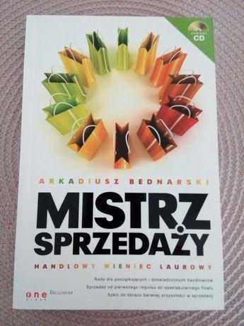 Mistrz sprzedaży (książka z płytą CD), A. Bednarski