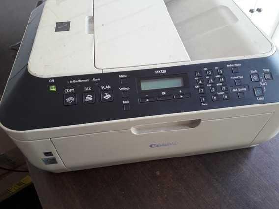 Vendo impressora canon MX320 a funcionar.