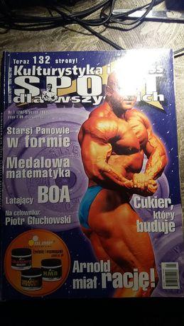 czasopismo kulturystyka i fitness sport dla wszystkich 2004 rok
