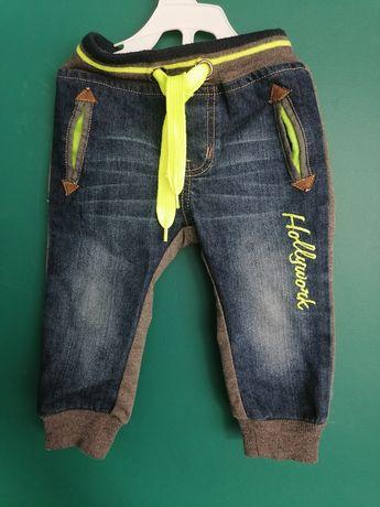 Spodnie dla chlopca rocznego