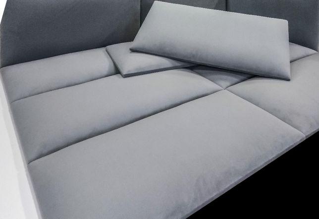 Panele tapicerowane ścienne np. na zabudowa wnęk wezgłowie siedzisko