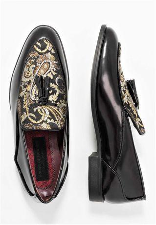 UNIKAT eleganckie Mokasyny loafersy gucci zara kazar Versace 41,45