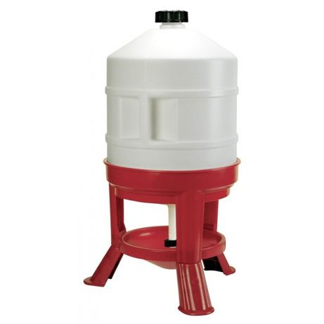 Automatyczne poidło dla drobiu, 30 l na stojaku