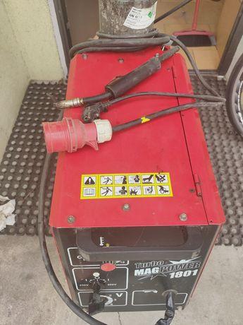 Półautomat spawalniczy MAG POWER 1801 DUAL BESTER+ Butla 8L+Reduktor.
