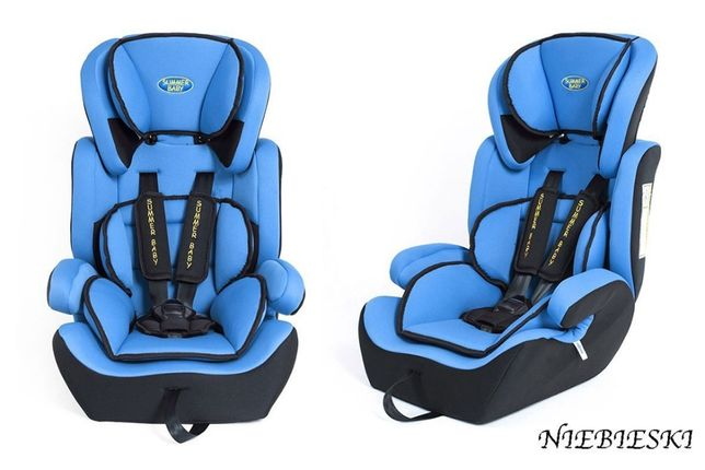 Promocja - Samochodowy Fotelik Dzieciecy 9-36 kg Model: Sport