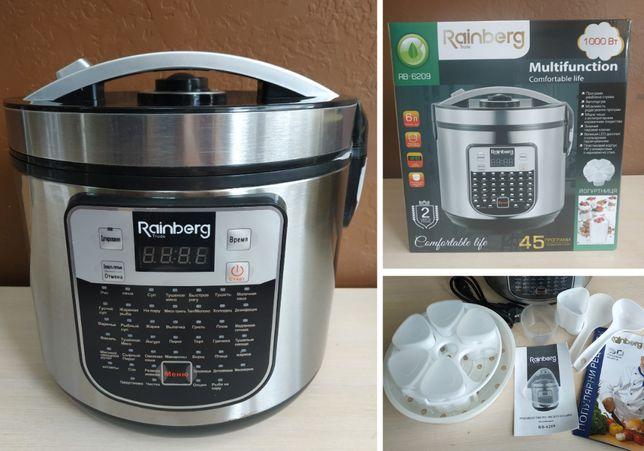 Новая мультиварка Rainberg 45 программ 1000 Вт чаша 6л + йогуртница