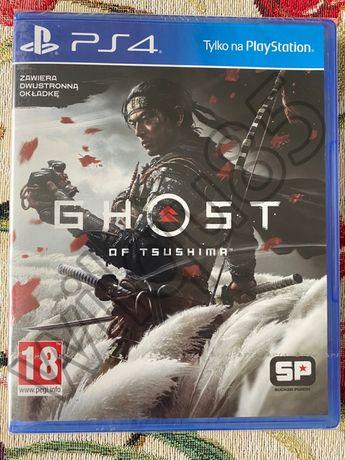 Ghost of Tsushima dwustronna okładka PS4 PS5 NOWA