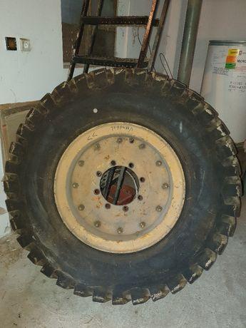 Kompletne koło do równiarki Baukema 1400x24 - bieżnik 90%
