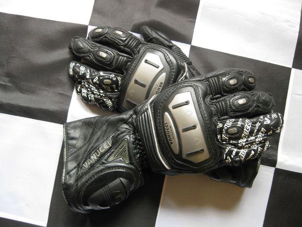Rękawice motocyklowe VANUCCI SPEED PROFI TITANIUM rozm.M 20-22cm