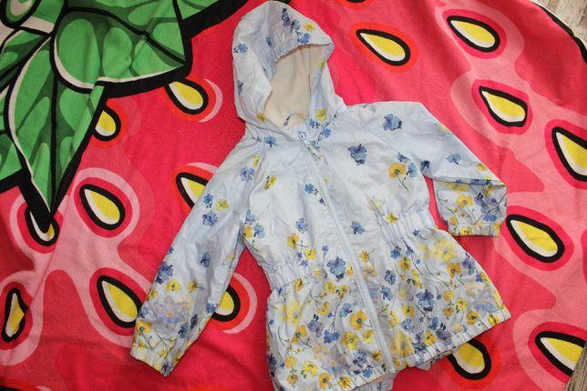 Плащ ветровка куртка на 3-4 года девочке Next