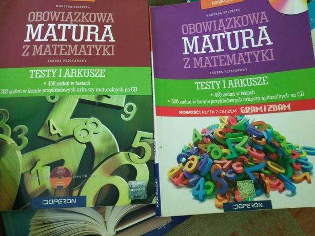 Obowiązkowa matura z matematyki testy i arkusze