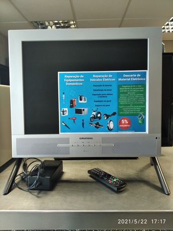 TV LCD Grundig 20p completa.
