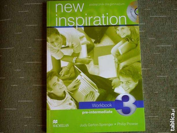Nowe ćwiczenia New Inspiration 3 gimnazjum