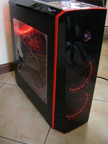 Niedrogi komputer do gier Titan 750 LED i5 SSD