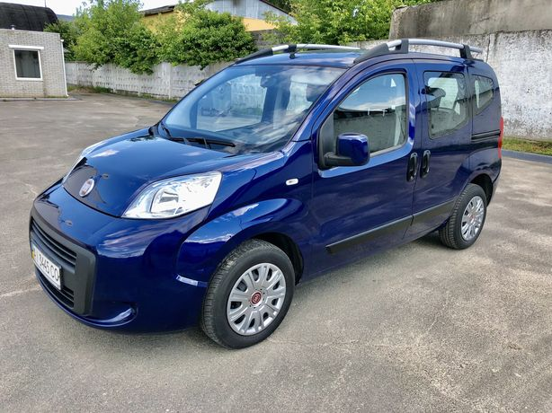 Fiat Qubo пас. Official